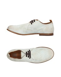 Moma Lace Up Shoes Light Grey