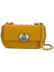 Moschino Cheap And Chic Quilted Crossbody Bag Yellow