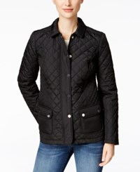 Charter Club Quilted Jacket Only At Macy's Deep Black