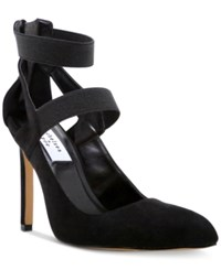 Chelsea And Zoe Plena Strappy Pumps Women's Shoes Black