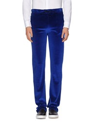 Versace Trousers Casual Trousers Men Blue