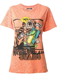 Jeremy Scott Printed 'Maxin And Relaxn' T Shirt
