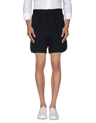 Maison Kitsune Trousers Bermuda Shorts Men Dark Blue