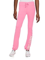 Wildfox Couture Party Sweats Graphic Sweatpants Party Girl