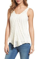 Velvet By Graham And Spencer Women's Kirsty Hume X Knit Tank