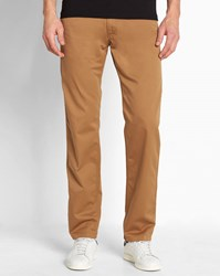 Carhartt Light Brown Cortez Skill Tapered Fit Jeans Camel