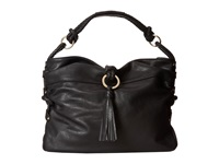 Big Buddha Kira Black Hobo Handbags