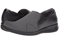 Softwalk Tilton Black Stretch White Smooth Leather Patent Women's Shoes