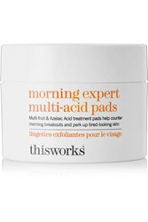 This Works Morning Expert Multi Acid Pads 60 Pads Colorless