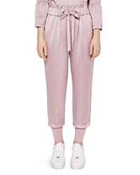 Ted Baker Says Relax Nayarmi High Rise Jogger Pants Dusky Pink