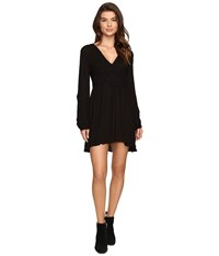 Volcom Nitescape Dress Black Women's Dress