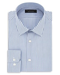 Bloomingdale's The Men's Store At Gingham Regular Fit Dress Shirt 100 Exclusive Blue