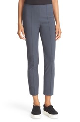 Vince Women's Stitch Seam Front Leggings Dark Grey