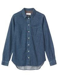 Toast Denim Shirt Indigo