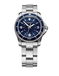 Victorinox Ladies Maverick Stainless Steel Watch Silver