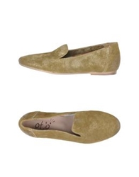 Oto Moccasins Military Green