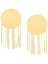Paula Mendoza Cubeo Earrings Metallic