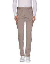 Officina 36 Trousers Casual Trousers Men Dove Grey