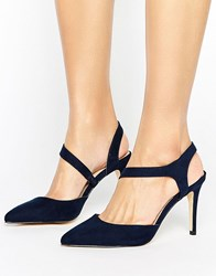 Coast Navy Twist Shoe Blue