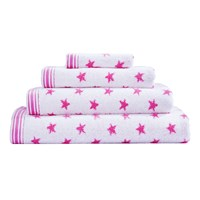 Cath Kidston Stars Towel Pink Face Cloth