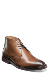 Florsheim Men's Hamilton Chukka Boot Cognac Leather