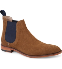 Oliver Sweeney London Silsden Suede Chelsea Boots Tan