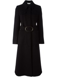 Stella Mccartney Belted Coat Black