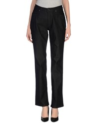 Trussardi Jeans Denim Denim Trousers Women Black