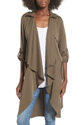 Lovers Friends Women's 'Morning View' Drape Coat