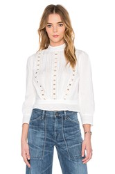 Citizens Of Humanity Josie Top White