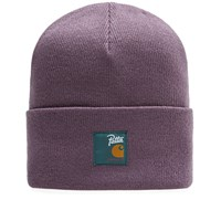 Carhartt X Patta Watch Hat Purple