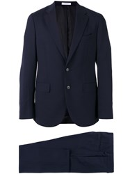 Boglioli Formal Suit Blue