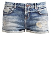 Ltb Judie Denim Shorts Elsa Wash Destroyed Denim