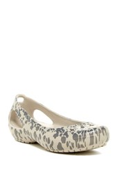 Crocs Kadee Animal Flat Women Gray