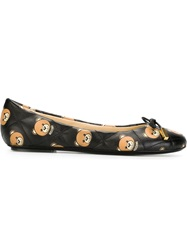 Moschino Teddy Bear Ballerinas Black