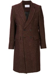 Strateas Carlucci Plated Surgical Double Breasted Coat 60
