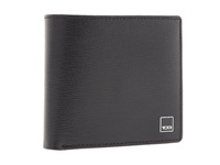 Tumi Monaco Global Center Flip Id Pass Black Leather Travel Pouch