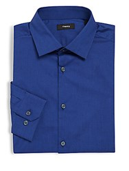 Theory Classic Fit Cotton Dress Shirt Vallient