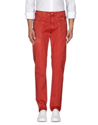 9.2 By Carlo Chionna Trousers Casual Trousers Men Red