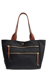 Frye Ivy Water Resistant Shoulder Tote Black