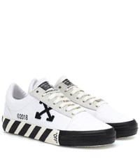 Off White Low Top Sneakers White