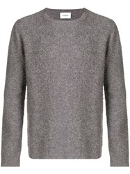 Dondup Crew Neck Jumper Grey