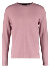 Jack And Jones Jorabner Jumper Deauville Mauve Mottled Lilac
