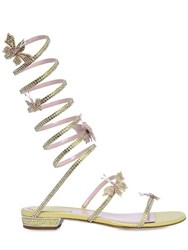 Rene Caovilla Swarovski Crystals 20Mm Wrap Sandals