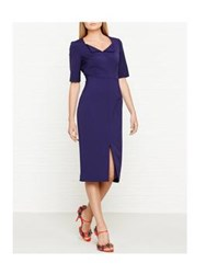 Lk Bennett L.K. Bennett Amy Fitted Pencil Dress Blue