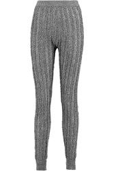 Alexander Wang Frayed Wool Leggings