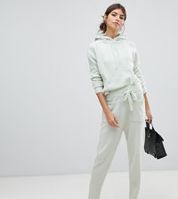 Micha Lounge Knitted Joggers Co Ord Green