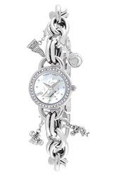 Game Time 'College Washington State University' Charm Bracelet Watch 23Mm