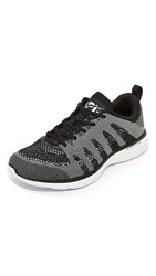 Apl Athletic Propulsion Labs Techloom Pro Running Sneakers Metallic Black White