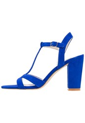 Kiomi High Heeled Sandals Electric Blue